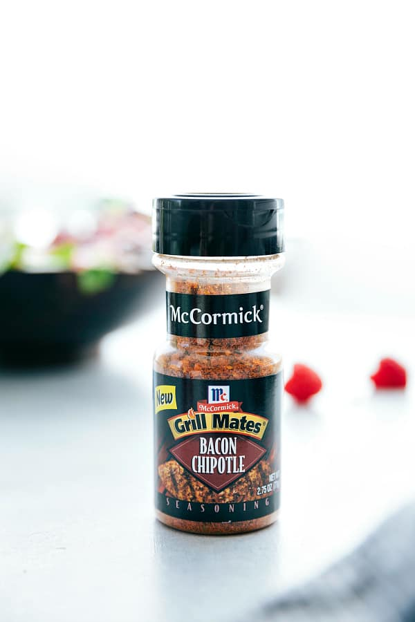 Bacon Chipotle Grill Mates seasoning by McCormick.