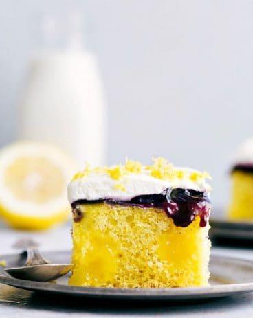 Lemon Blueberry Poke Cake3