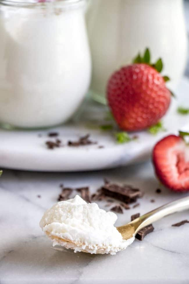 Coconut Mousse. This fluffy coconut mousse comes together quick and easy and is loaded with cold coconut flavor! Top with your favorite toppings and it's the perfect summer dessert!