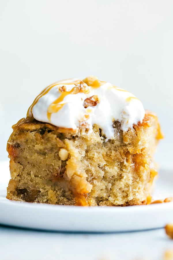 Best Ever Carrot Walnut Cake Recipe