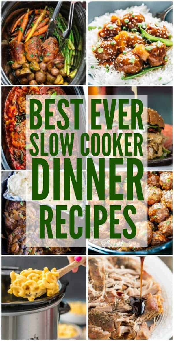 Best ever slow cooker dinner recipes the recipe critic for Best dinner ideas ever