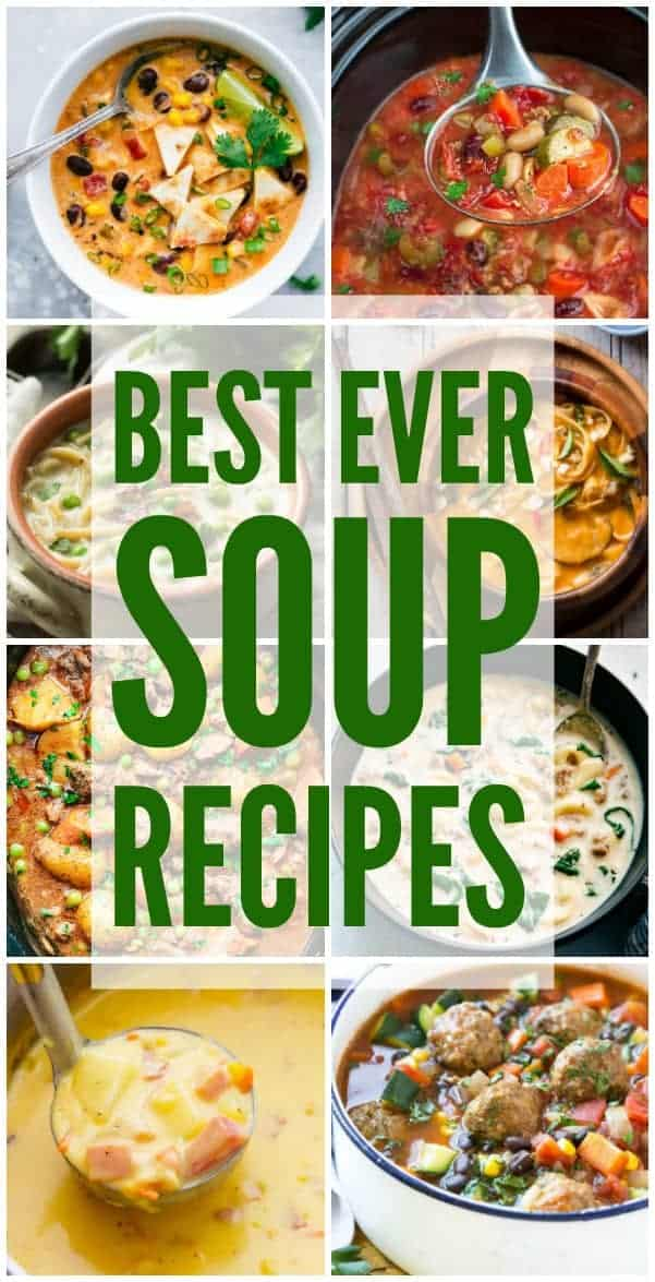 Best ever soup recipes the recipe critic cozy up this season with the very best warm and comforting soups forumfinder Choice Image
