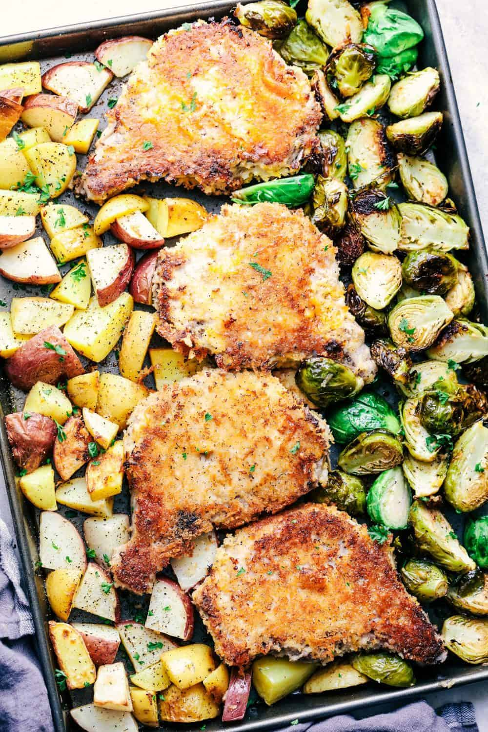 3 recipes how to cook in the oven tender pork with potatoes