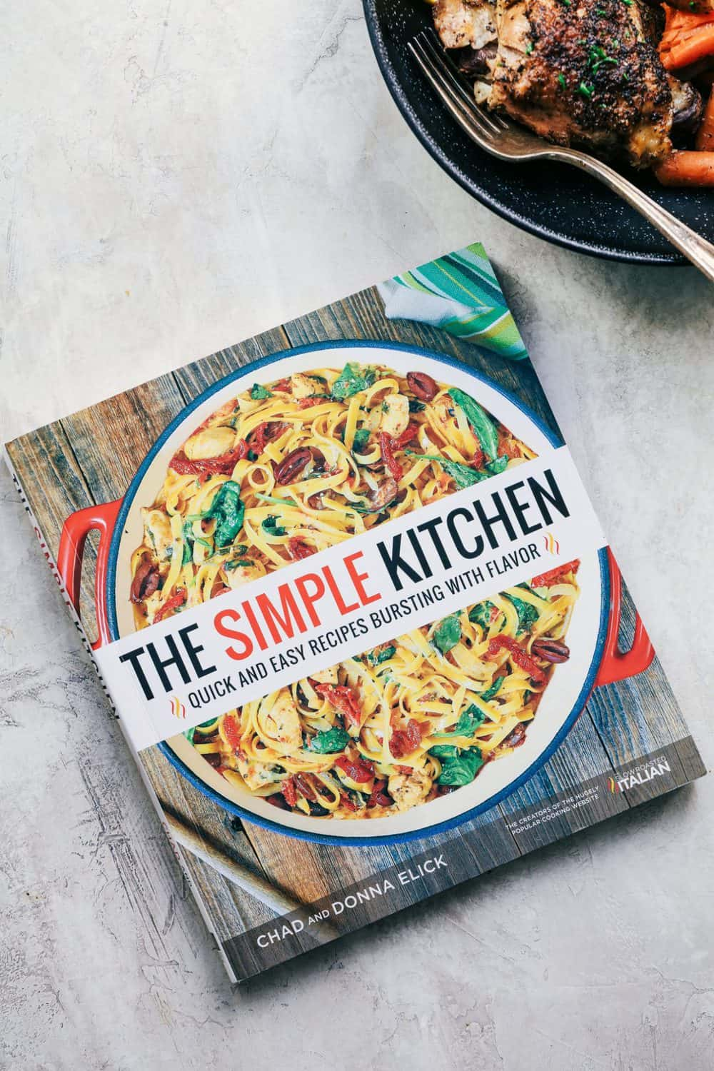The Simple Kitchen cookbook.