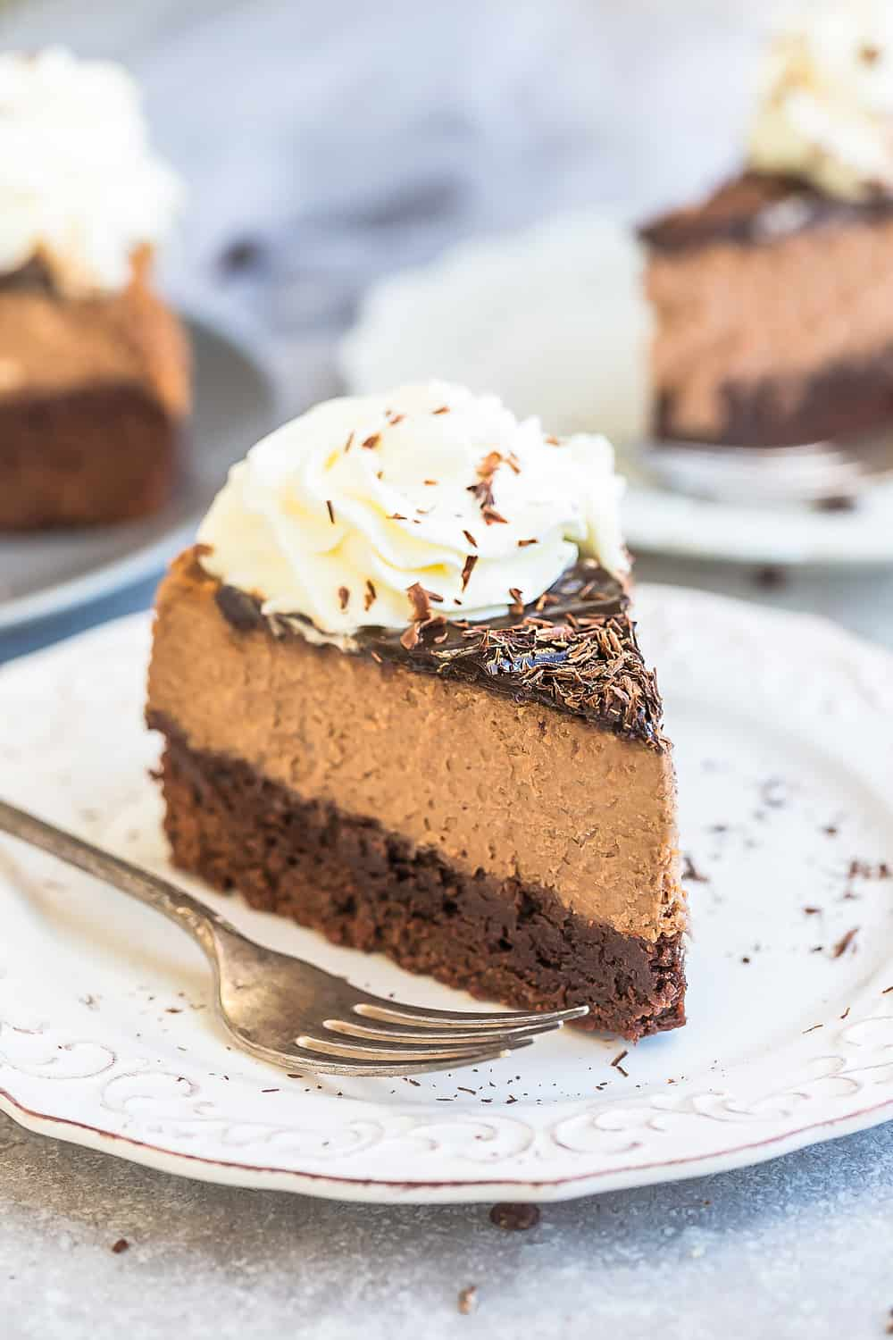 Chocolate Brownie Cheesecake The Recipe Critic