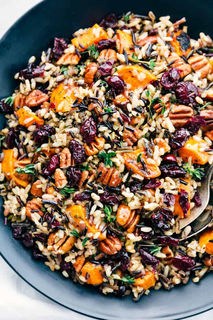 Cranberry Pecan Sweet Potato Wild Rice Pilaf The Recipe