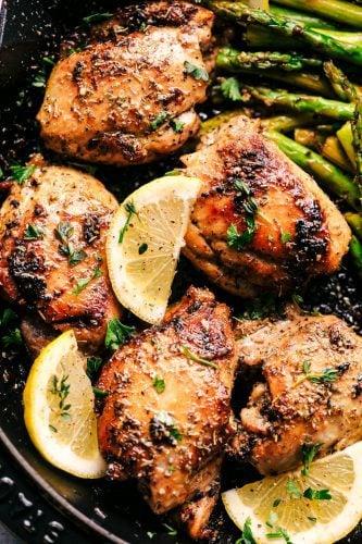 Buttery Garlic Herb Chicken With Zucchini The Recipe Critic