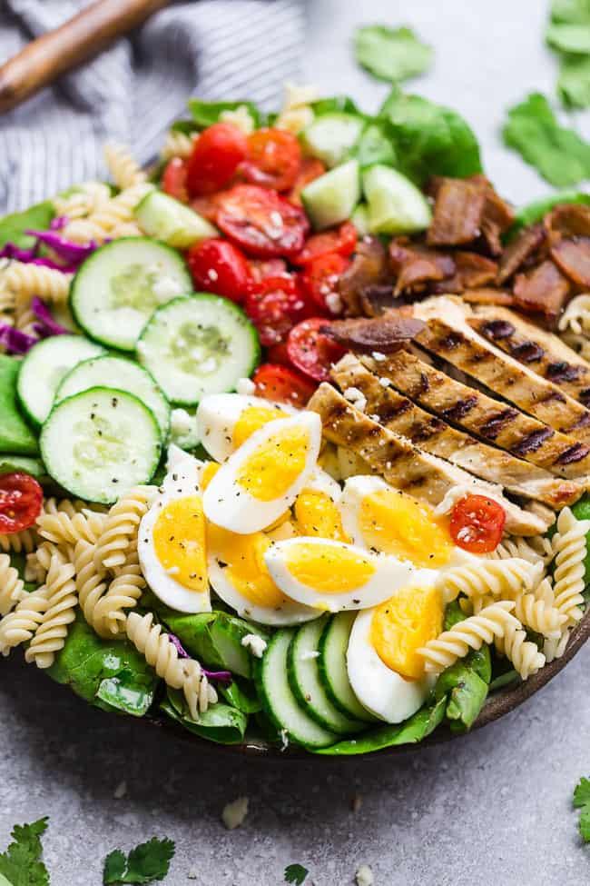 Balsamic Chicken Cobb Salad.