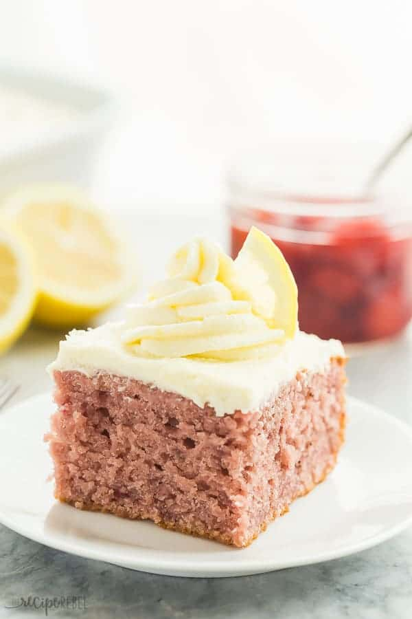 Strawberry Lemonade Cake Recipe The Recipe Critic