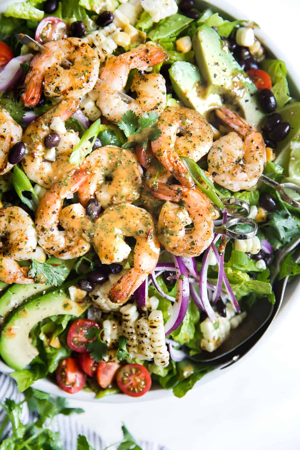 Grilled Shrimp Salad The Recipe Critic