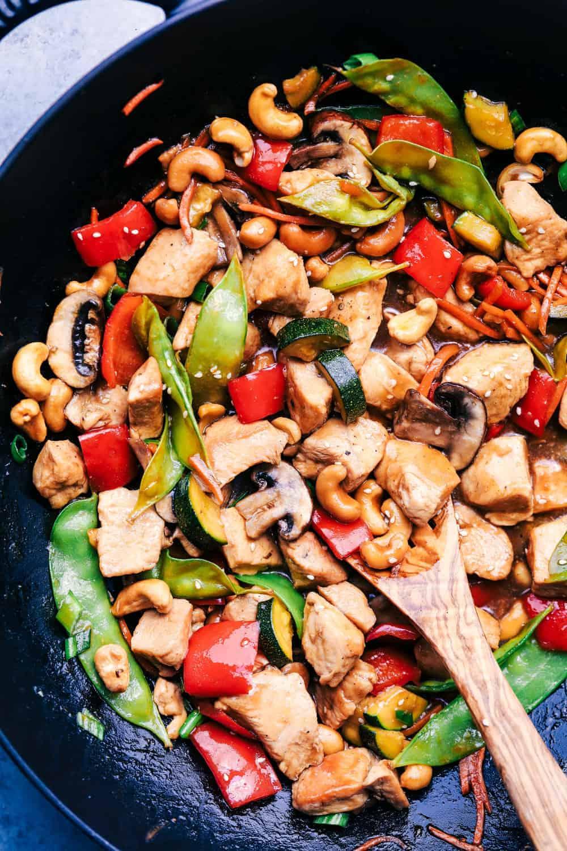 Cashew Chicken Stir Fry The Recipe Critic