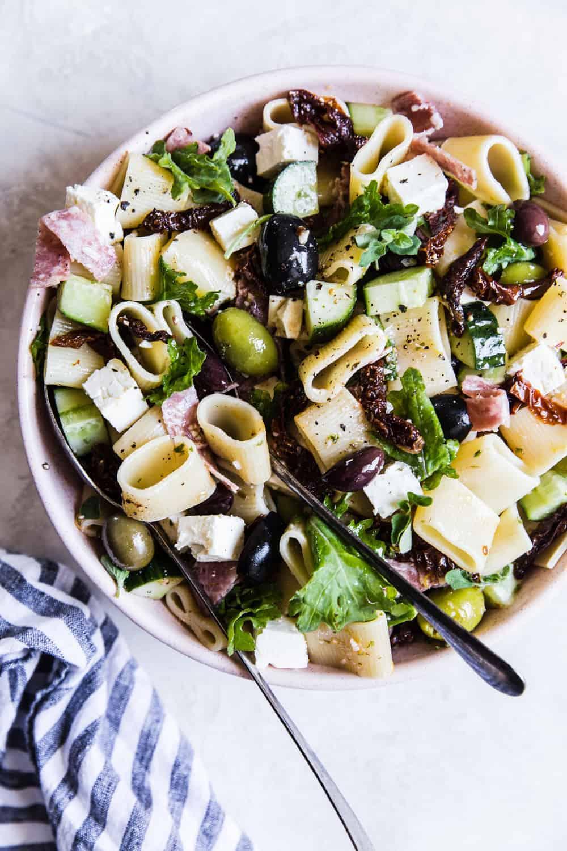 Mediterranean Pasta Salad The Recipe Critic