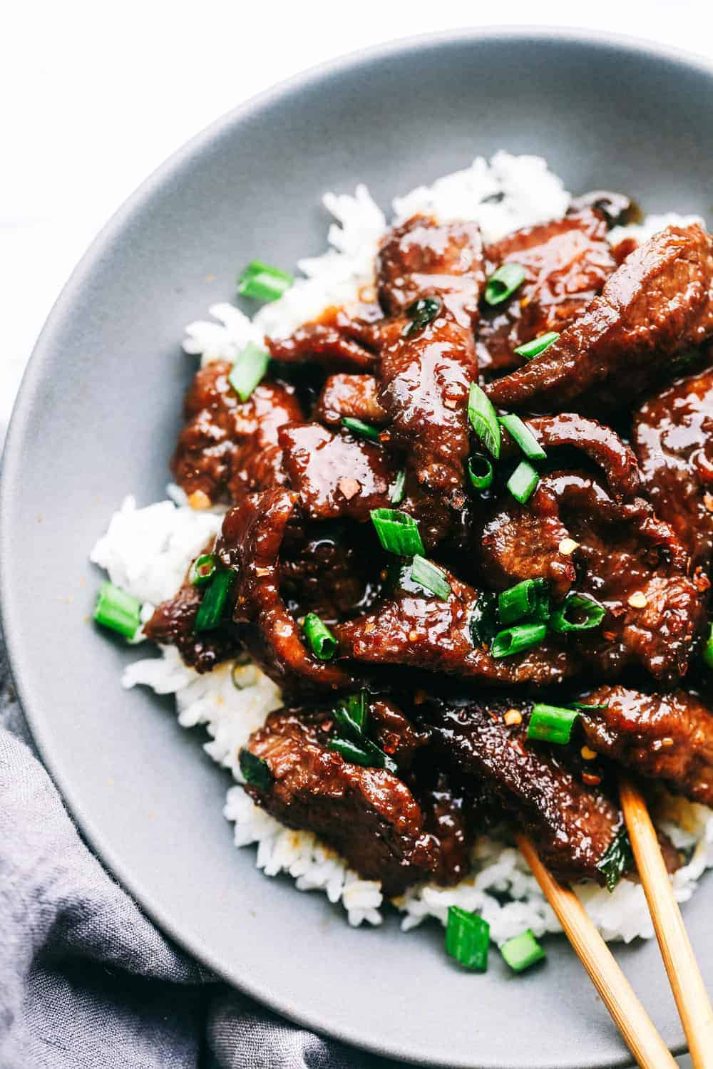Super Easy Mongolian Beef Tastes Just Like P F Changs The