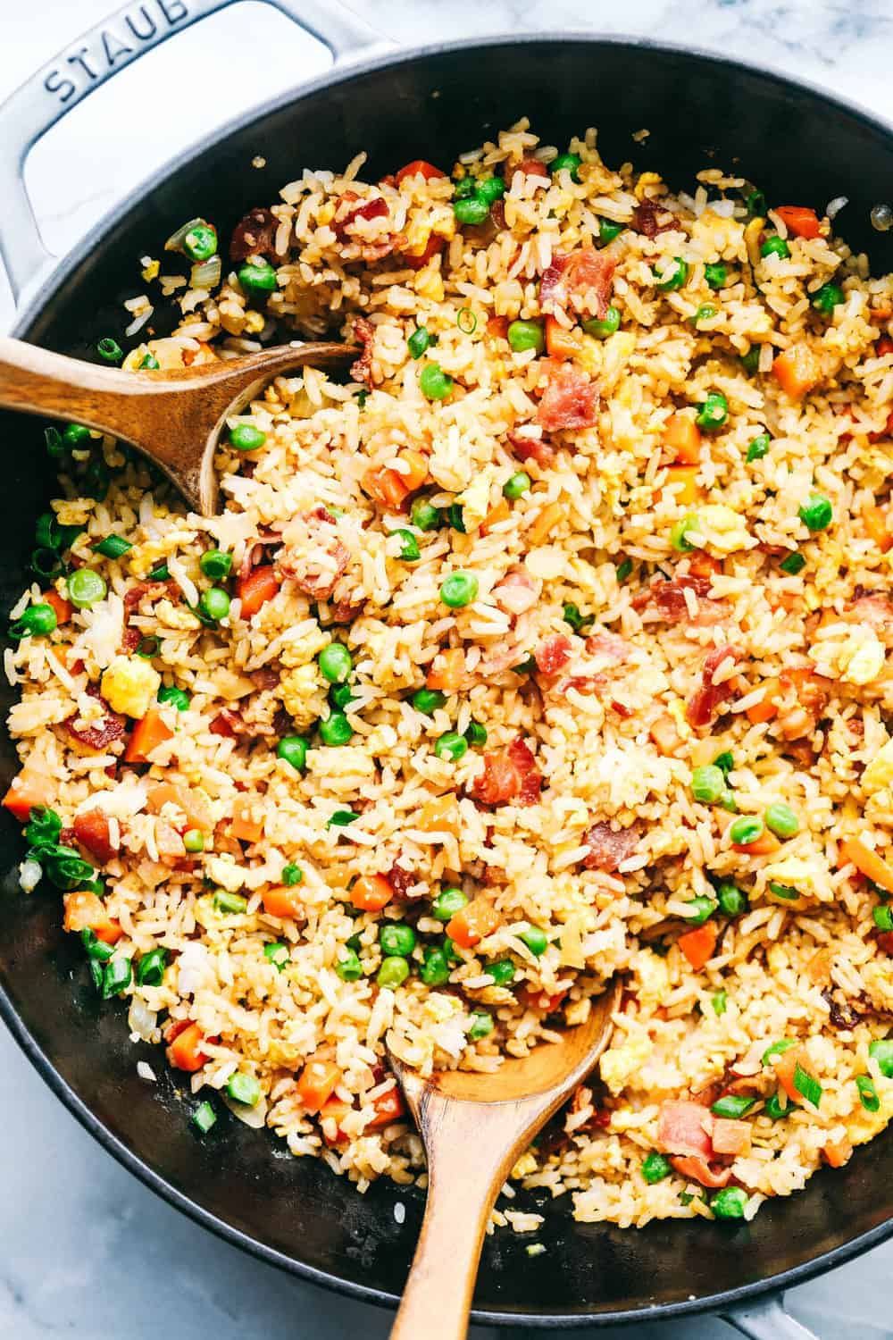 Easy Bacon Fried Rice The Recipe Critic