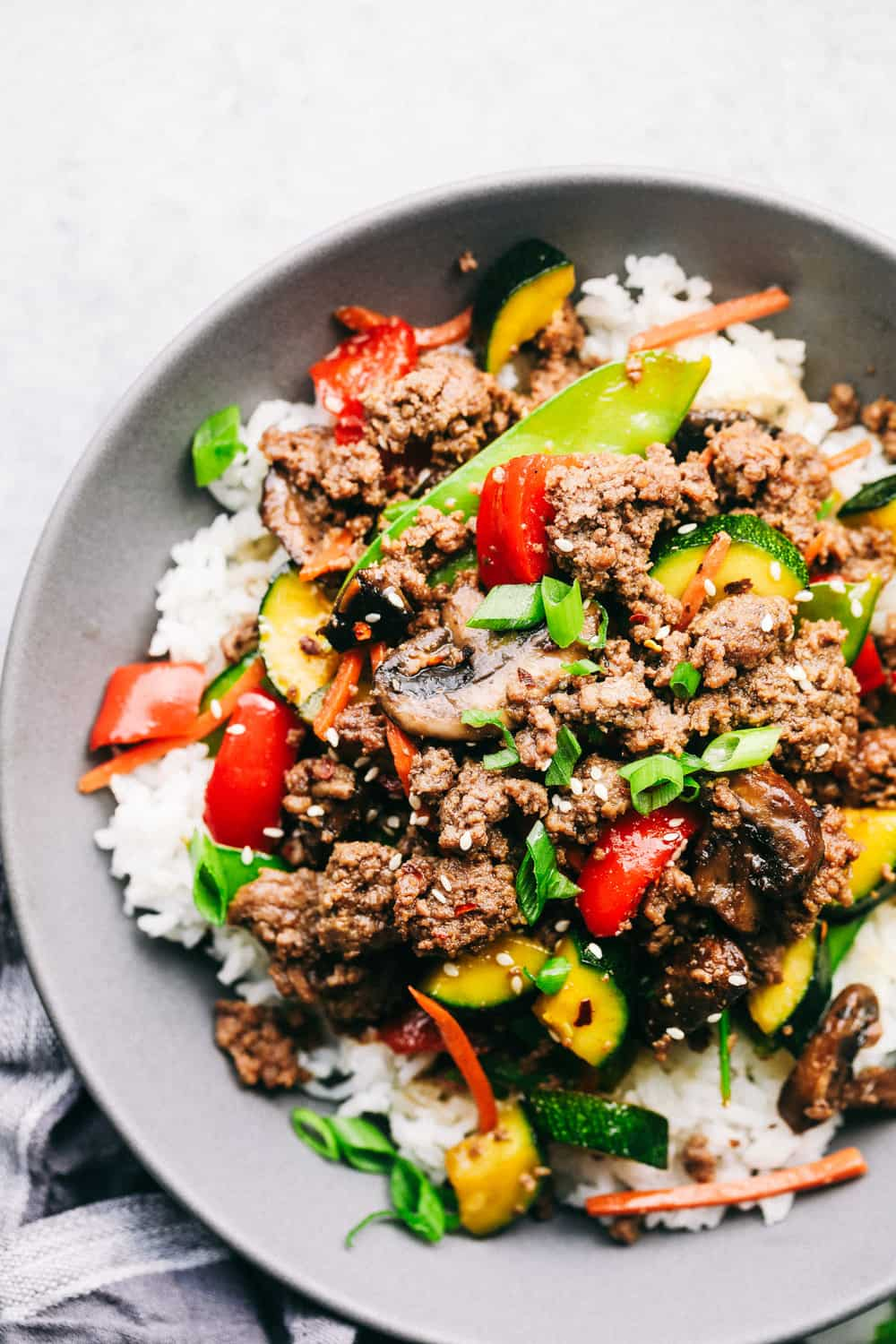 Korean Ground Beef Stir Fry The Recipe Critic