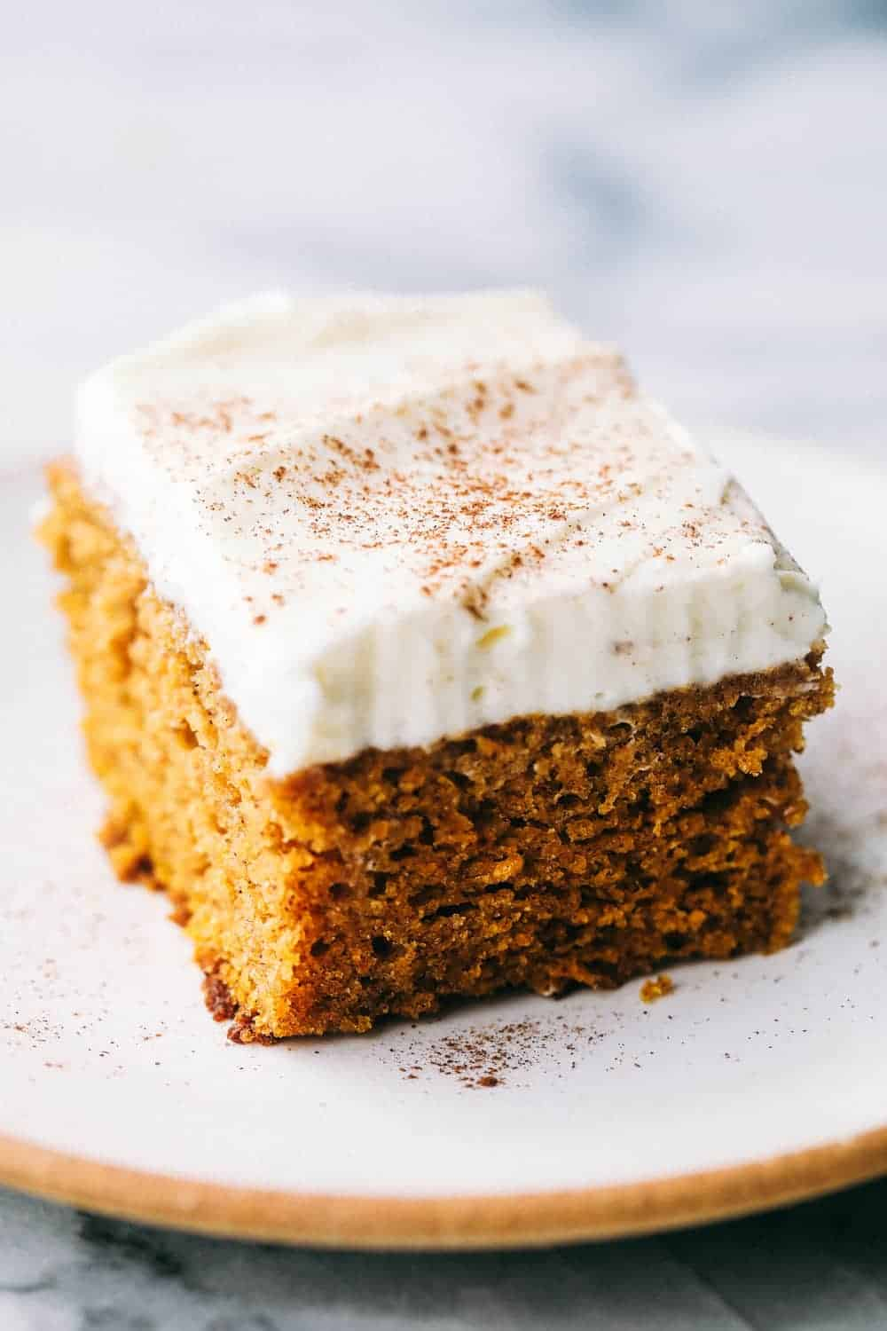 Incredible Pumpkin Cake With Cream Cheese Whipping Cream Frosting The Recipe Critic