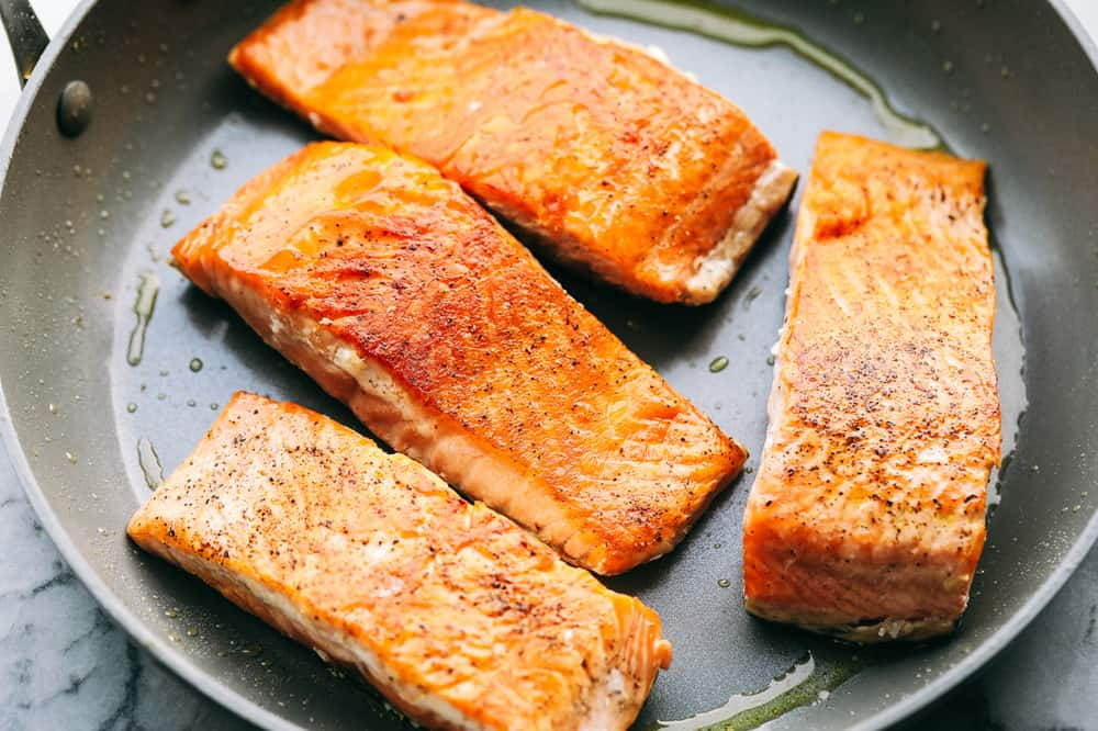 Insanely Good Creamy Tuscan Garlic Salmon