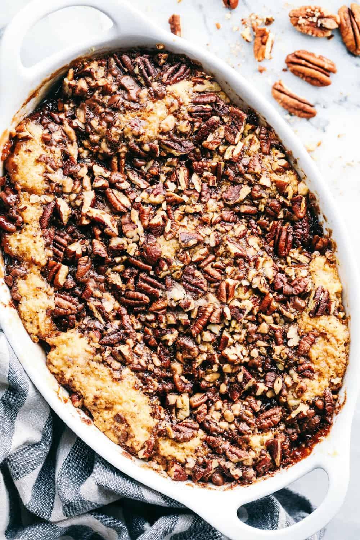 Amazing Pecan Pie Cobbler