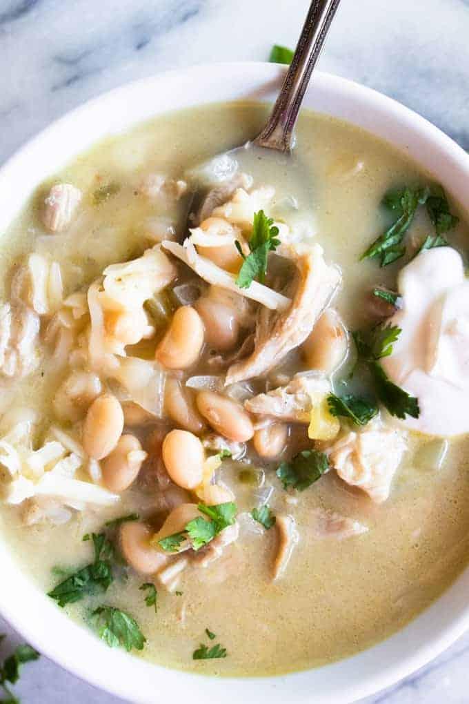 Green Chile Enchilada Soup The Recipe Critic