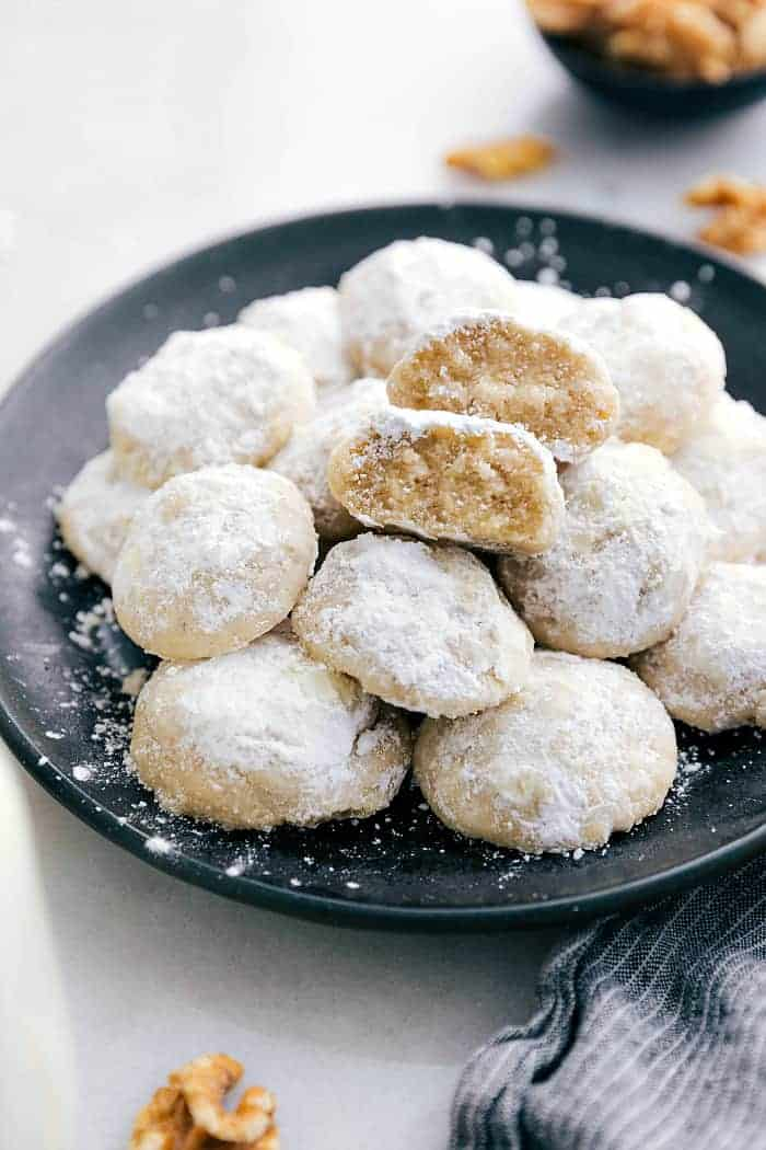 Snow Kiss Cookies Snowball Cookies