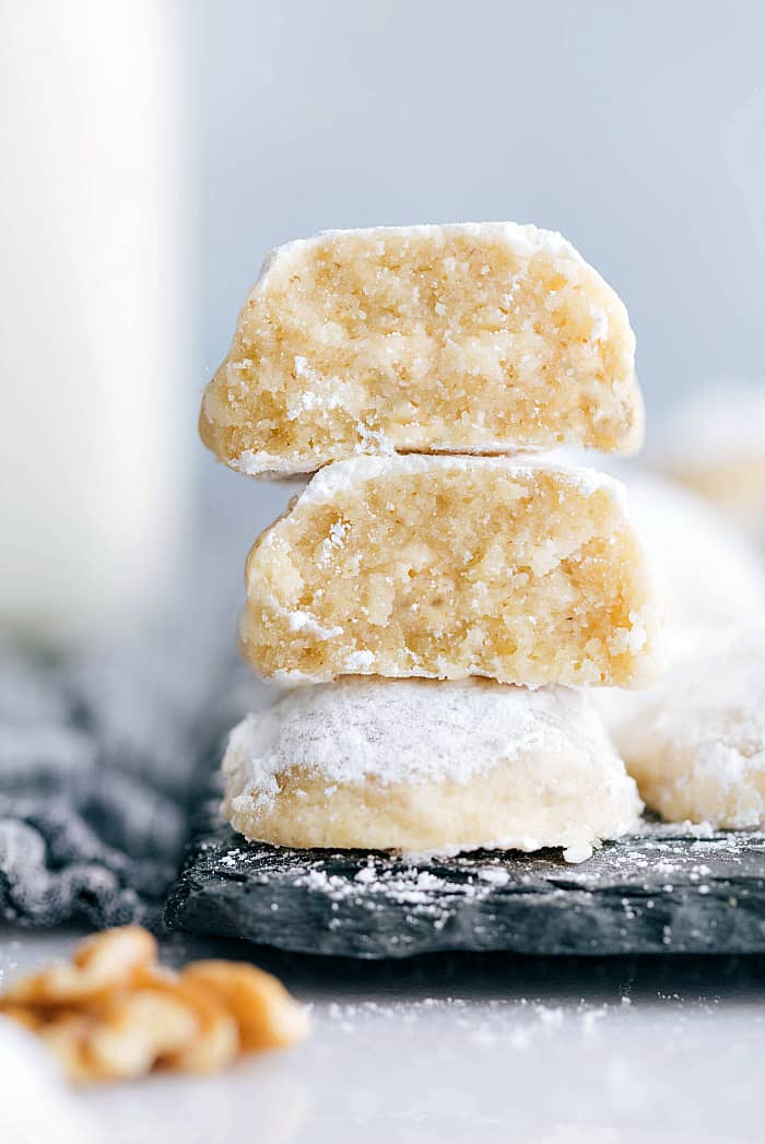 Snow Kiss Cookies Snowball Cookies The Recipe Critic
