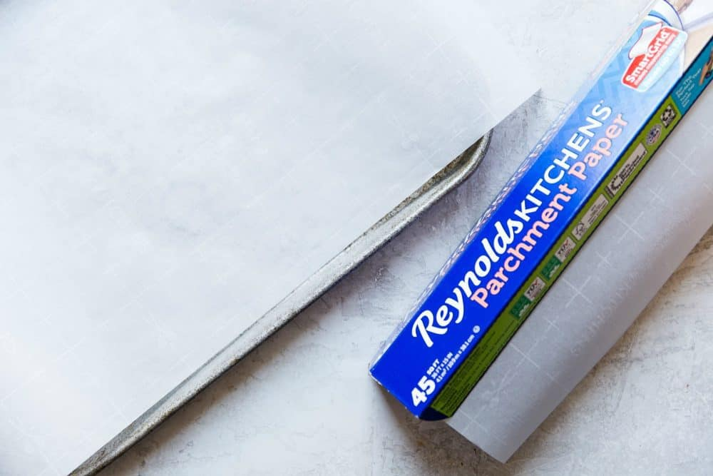 Box of Reynolds Kitchens Parchment Paper.