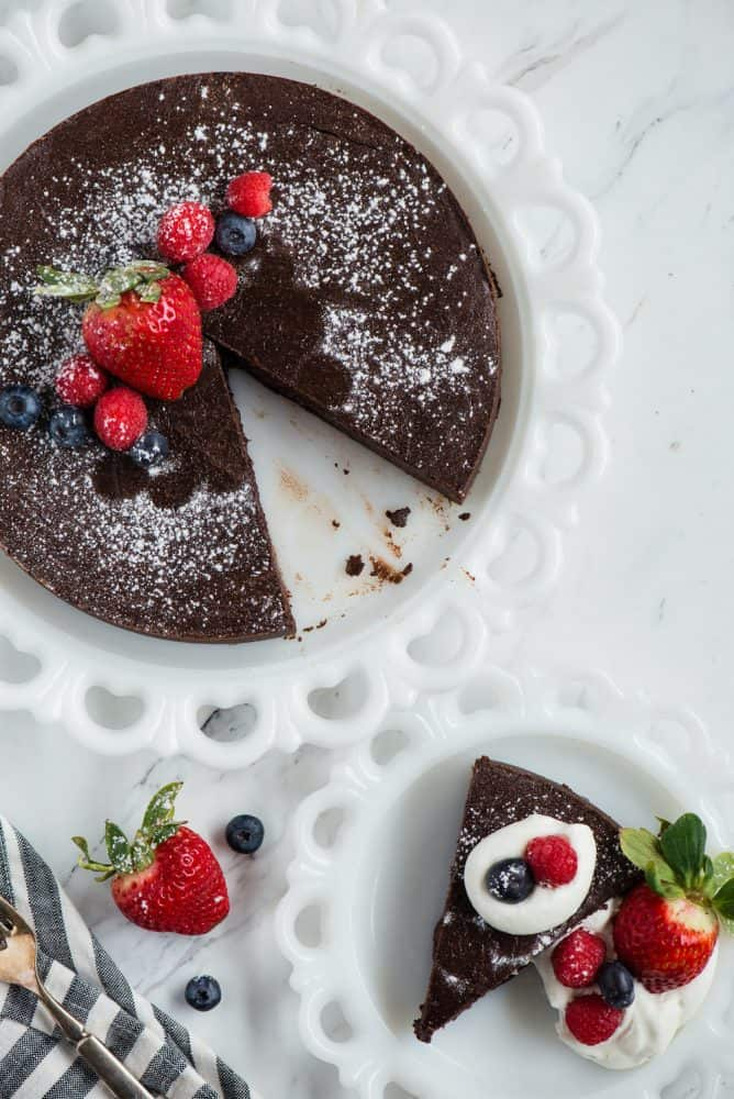 Flourless Chocolate Cake Recipe The Recipe Critic