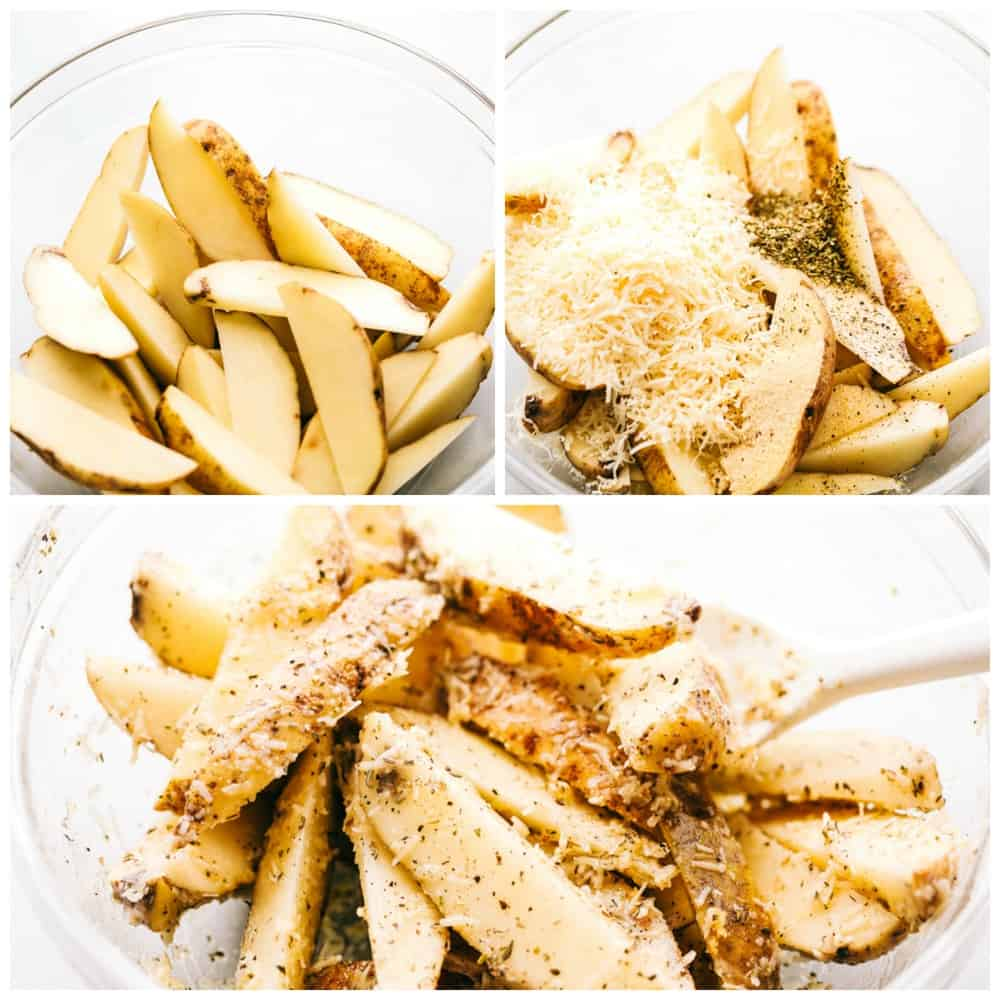 How to make parmesan fries
