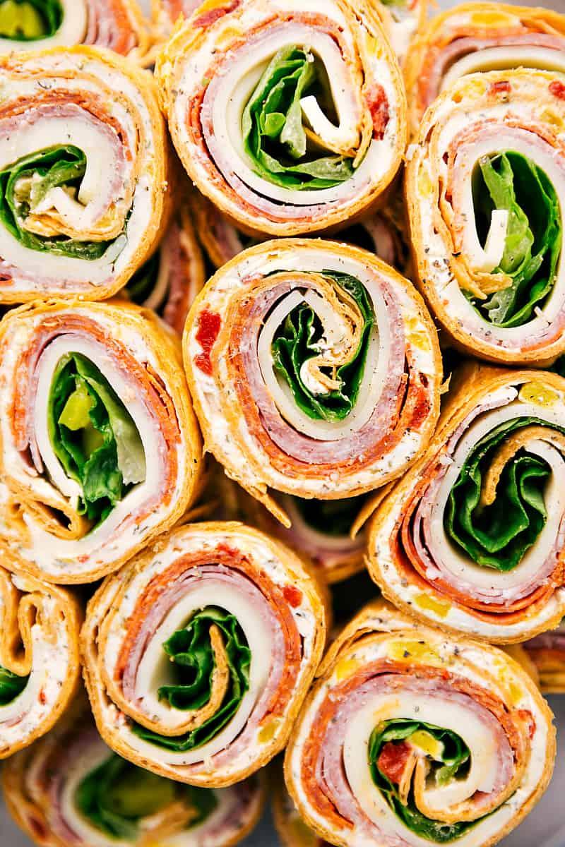 Stacked Italianpinwheels