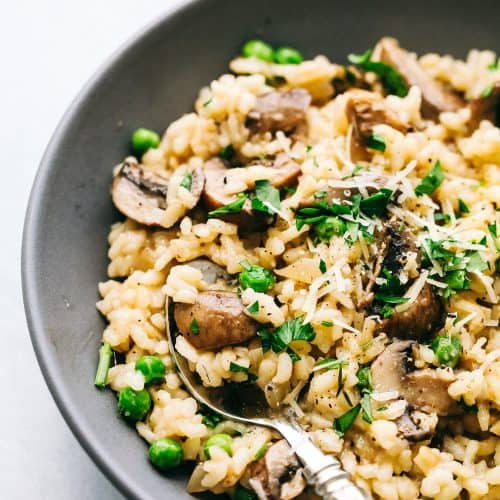 How To Make The Best Mushroom Risotto The Recipe Critic