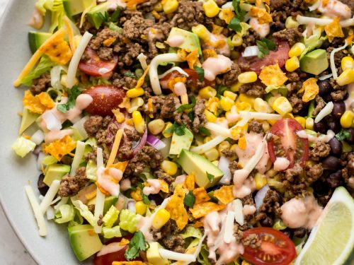 Taco Salad Recipe Beef
