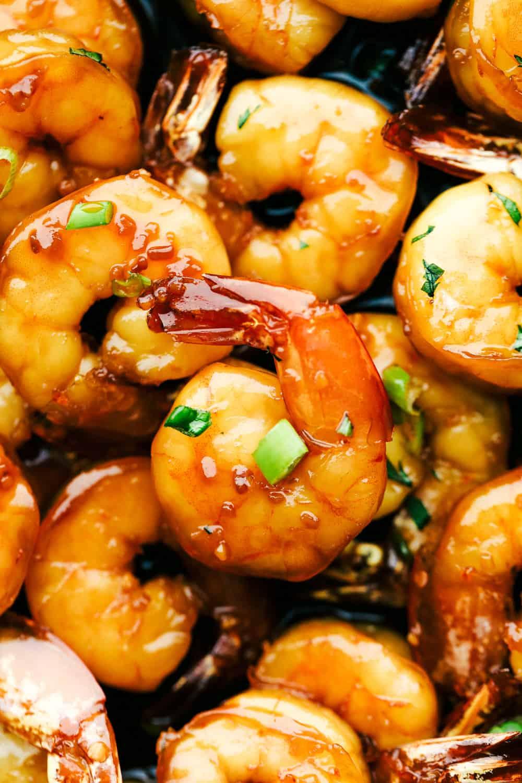 Homemade Sticky Honey Garlic Butter Shrimp Recipe The Recipe Critic