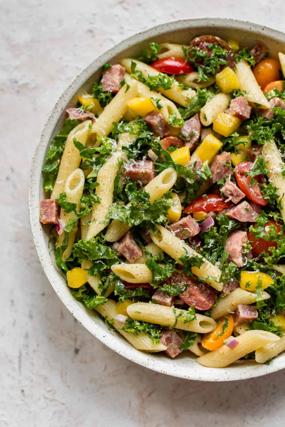 Kale Pasta Salad The Recipe Critic