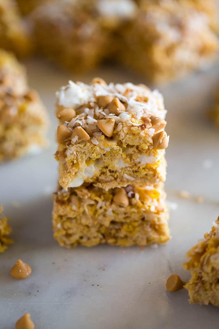 No Bake Butterscotch Bars The Recipe Critic