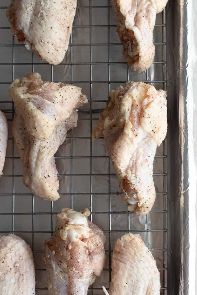 Chicken Wings ready to bake
