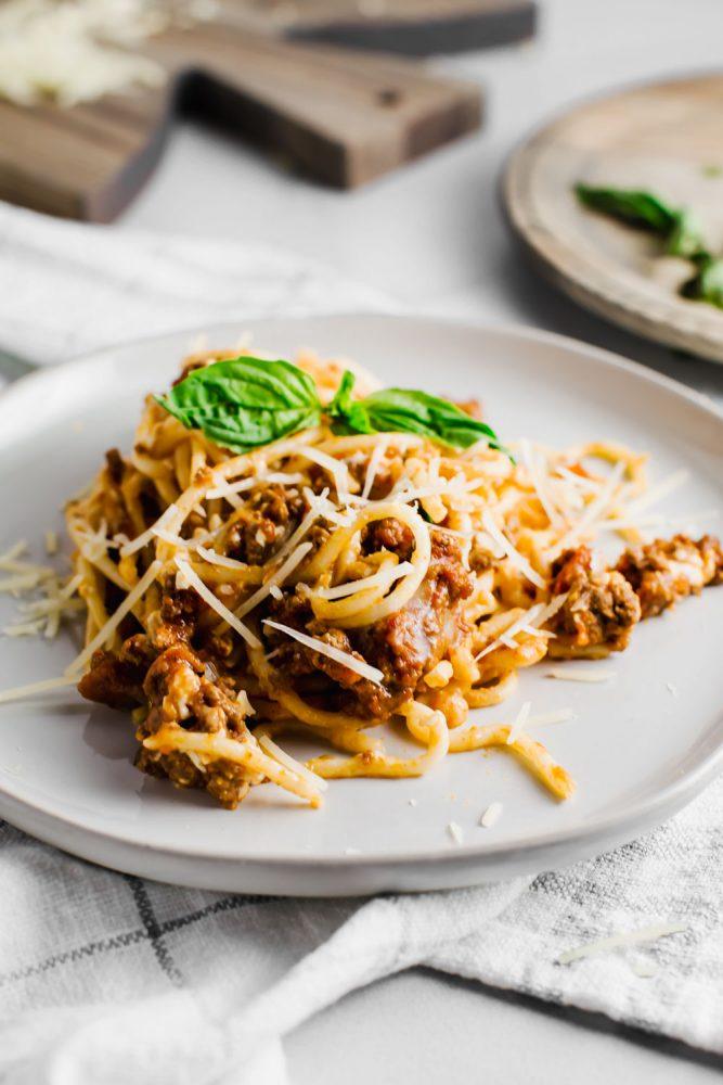 Classic Baked Spaghetti