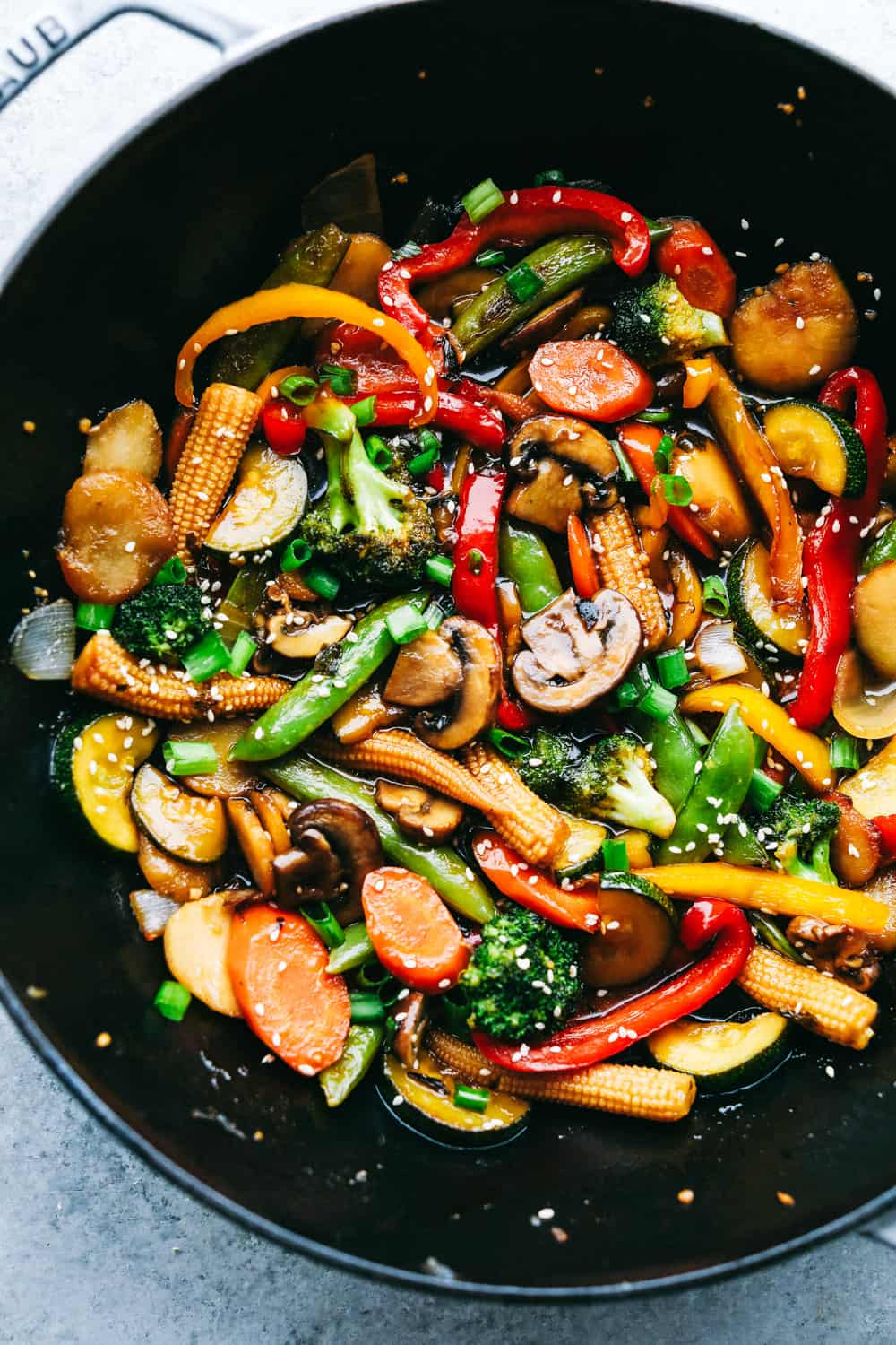 Easiest Vegetable Stir Fry ~ The Recipe Critic