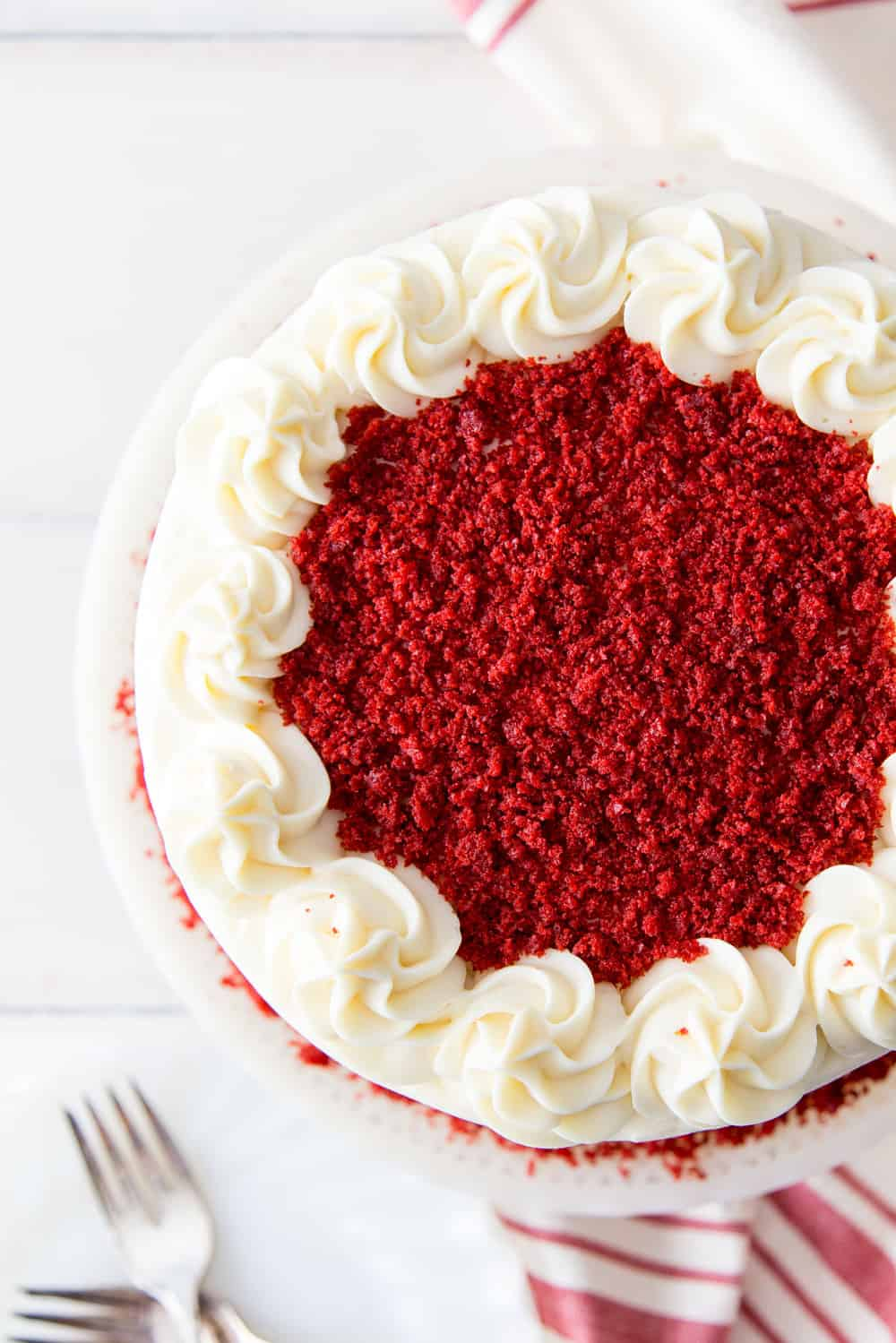 Enjoyable Red Velvet Cake Recipe The Recipe Critic Personalised Birthday Cards Rectzonderlifede