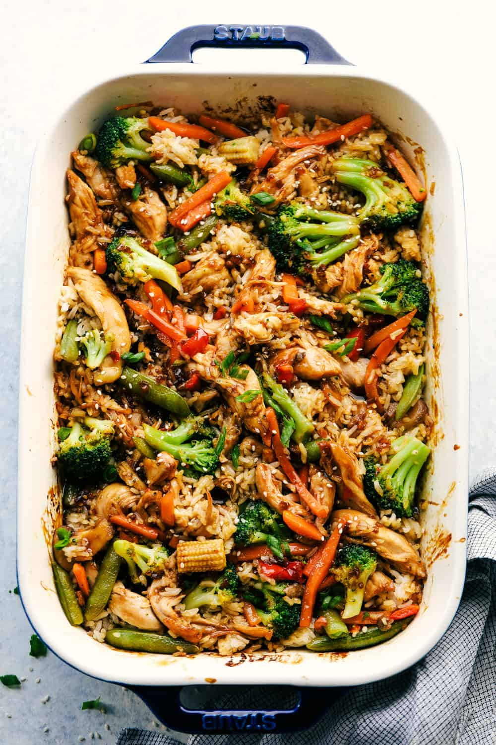 Easy Teriyaki Chicken Casserole