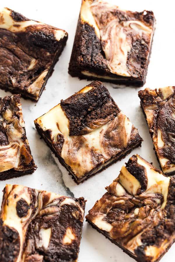 Cream Cheese Brownies The Recipe Critic