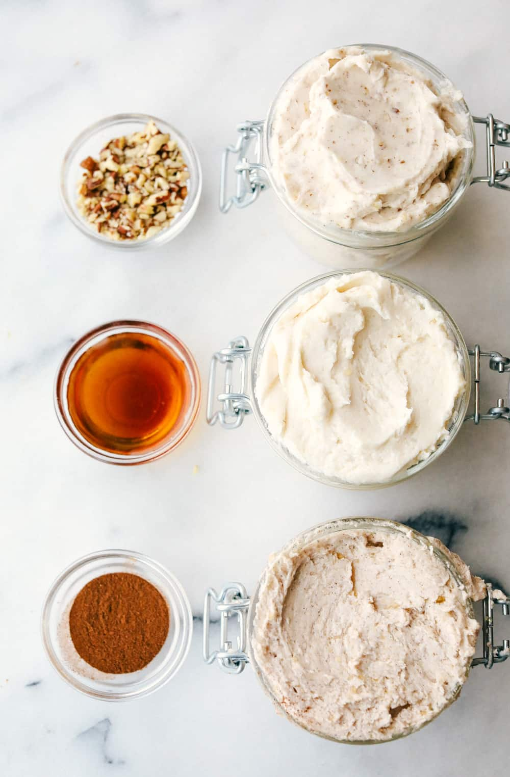 Maple plant butter three ways