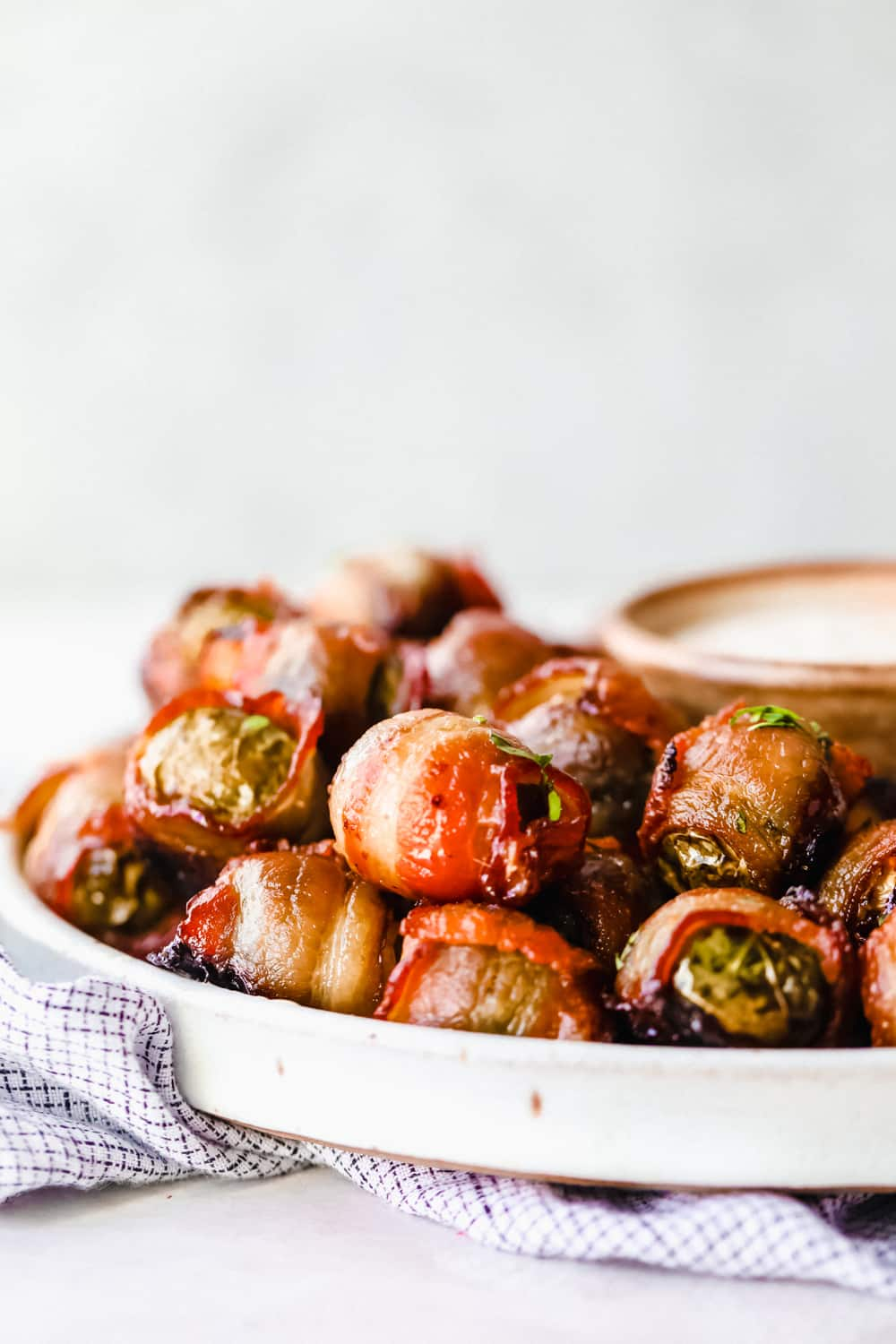 Awesome Bacon Wrapped Brussels Sprouts