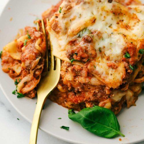 The Best Lasagna Recipe Ever The Recipe Critic