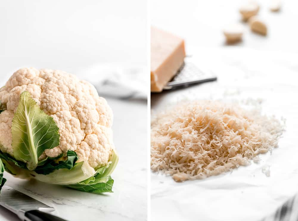 Cauliflower and Cauliflower shredded