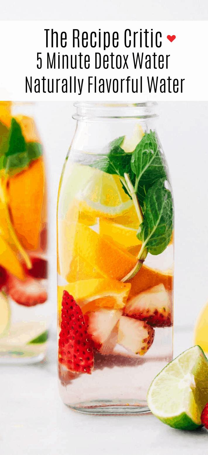 How To Make The Best Lemon Detox Water