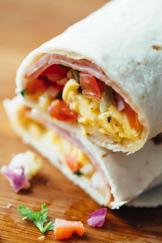 ¡Burritos de desayuno que se pueden congelar! 4