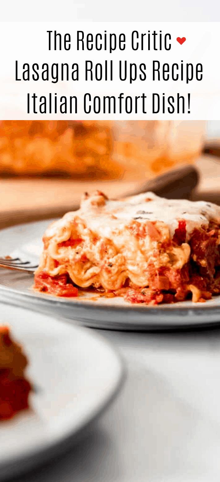 Lasagna Roll Ups Receta | El crítico de recetas 2
