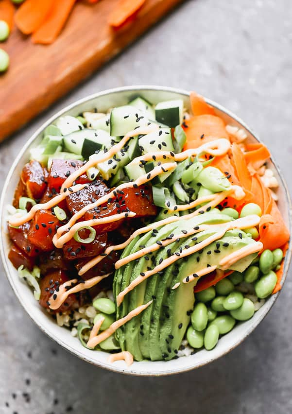 Easy To Make Poke Bowl Recipe The Recipe Critic