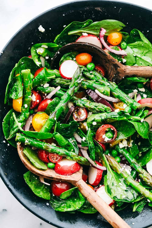 Asparagus Salad With Lemon Vinaigrette The Recipe Critic