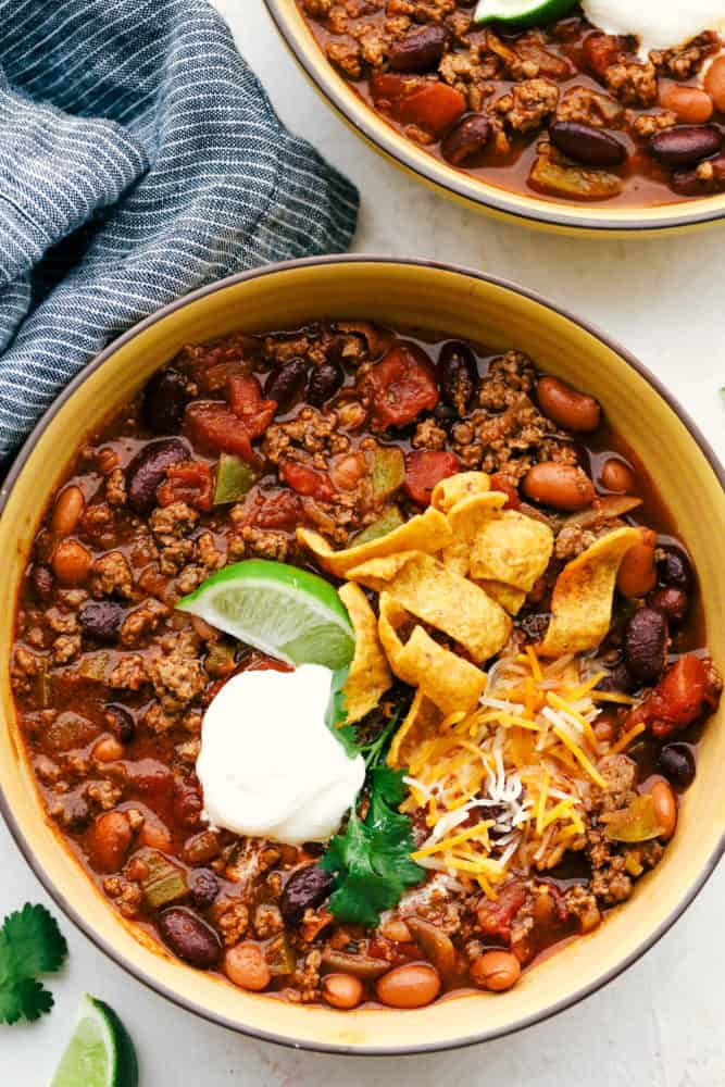 Best Ever Chili Recipe The Recipe Critic